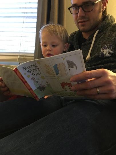 allen and kate deilentheiss reading book